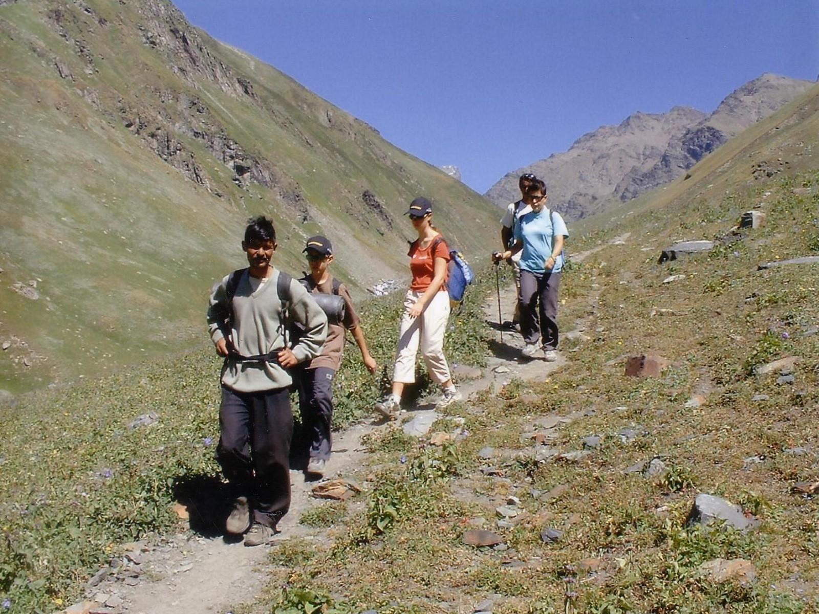 Bhaba Pass Spiti to Kinnaur - 9 Days